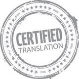 Certified legal Translation