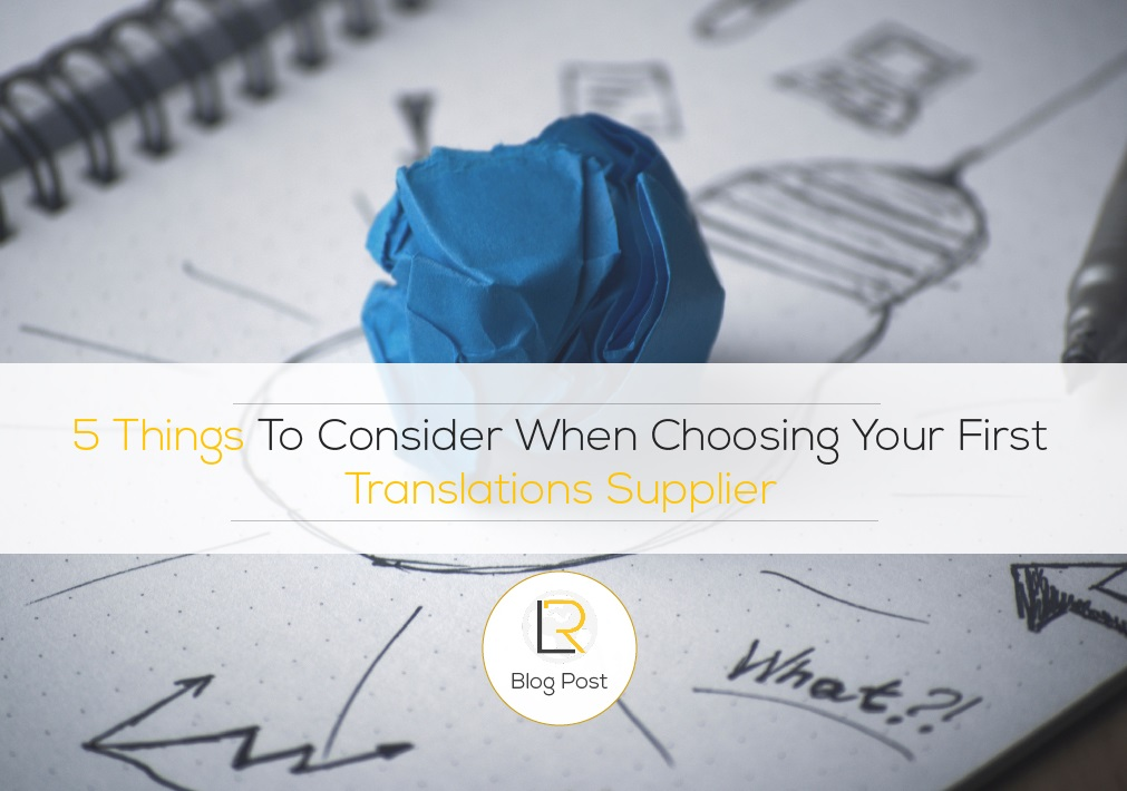choose translation agency
