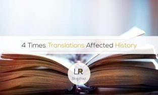 When translations changed history