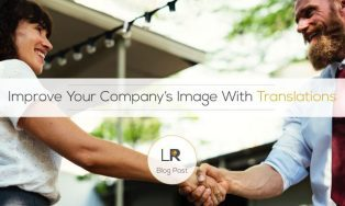 Improve your company's image with translation services