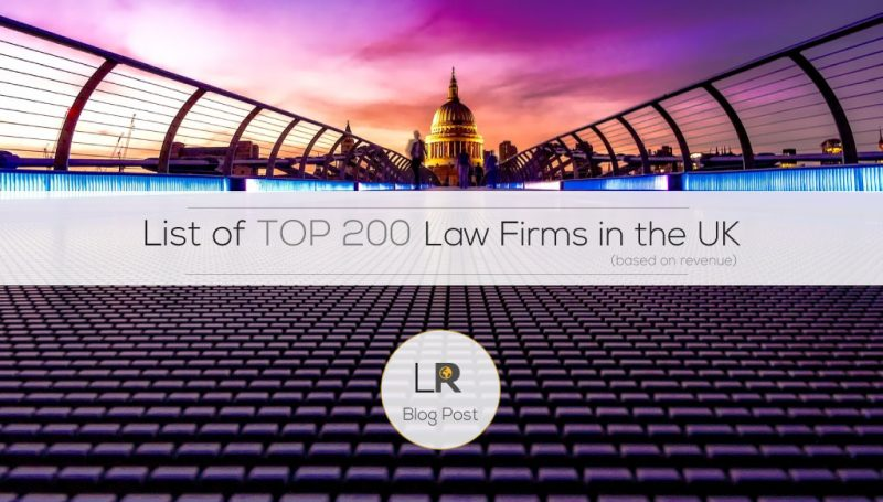 Top Law Firms in The UK