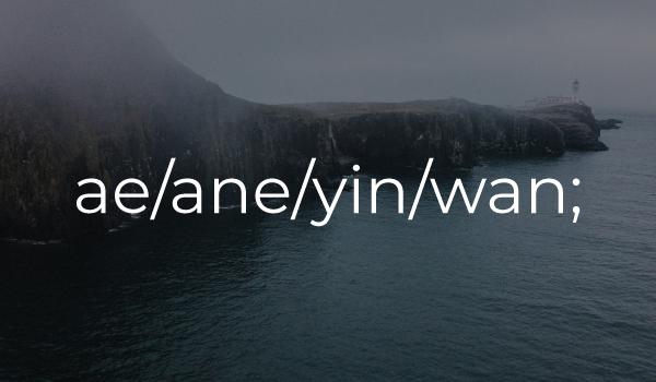 ae-ane-yin-wan - Scots